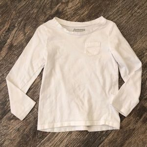 Old navy white long sleeve tee